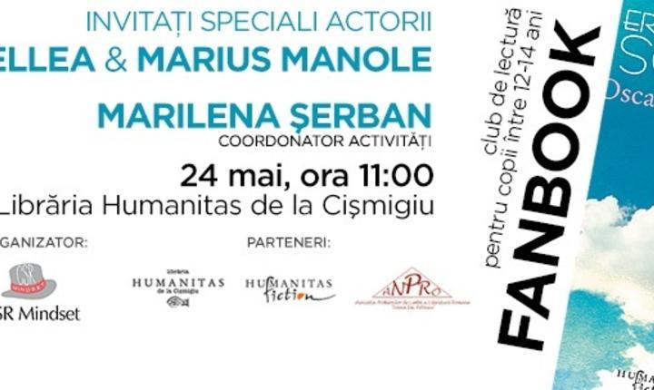 Invitație Oana Pellea și Marius Manole
