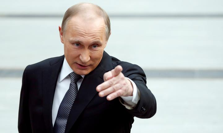 Preşedintele rus, Vladimir Putin (Foto: Reuters/Maxim Shemetov)