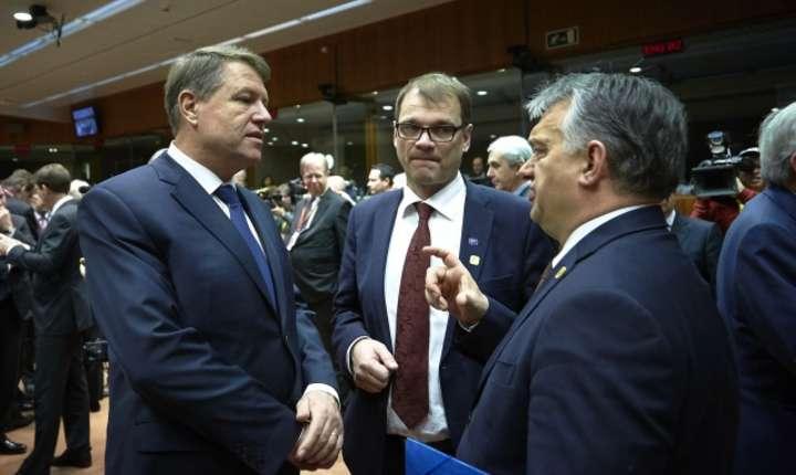 Summit UE 15 decembrie 2016