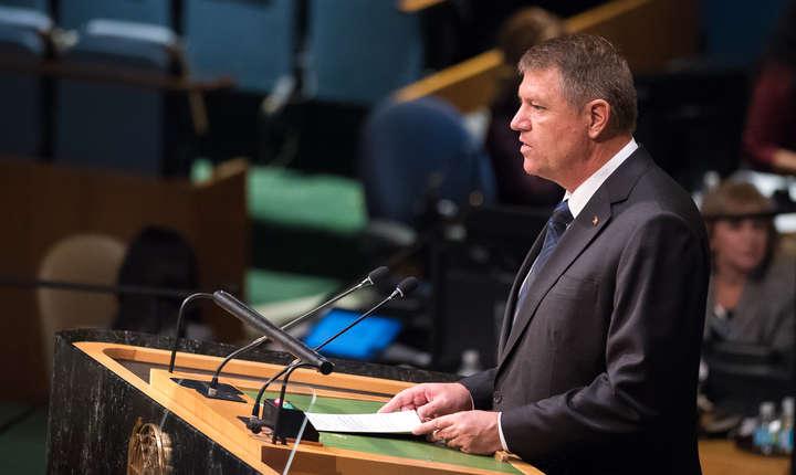 Klaus Iohannis va pune accent pe importanţa unei ordini internaţionale bazată pe principii şi reguli