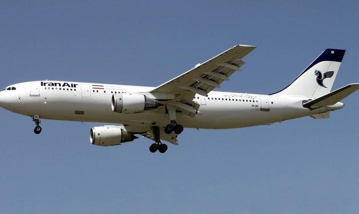 Un Airbus al companiei Iran Air