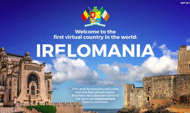 The Mansion Advertising deschide granitele primei tari virtuale din lume: IRELOMANIA