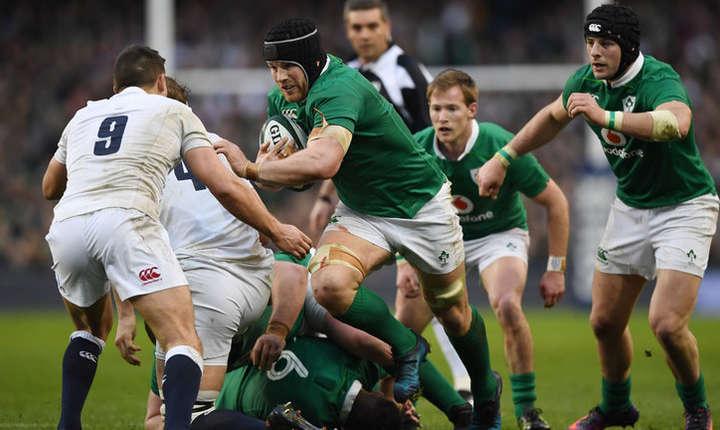 Irlanda 13 Anglia 9