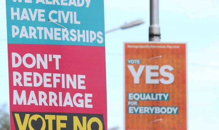 Afișe referendum Irlanda