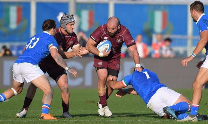 Italia 28 Georgia 17