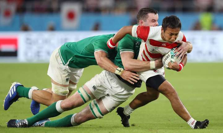 Japonia 19 Irlanda 12