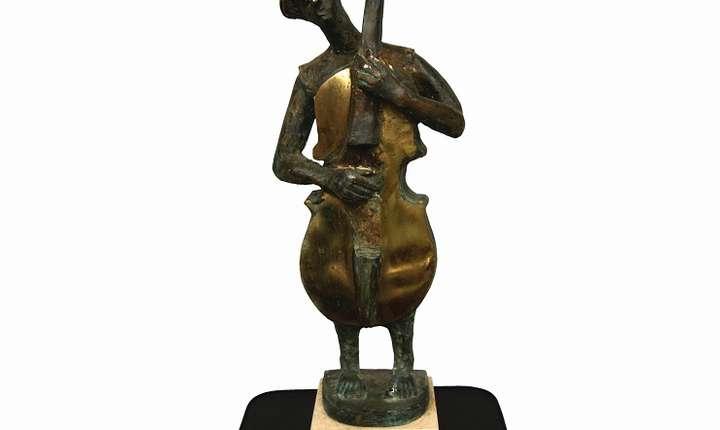 """Afiș Expoziția de sculptură """"Jazz – suflet și formă"""""""