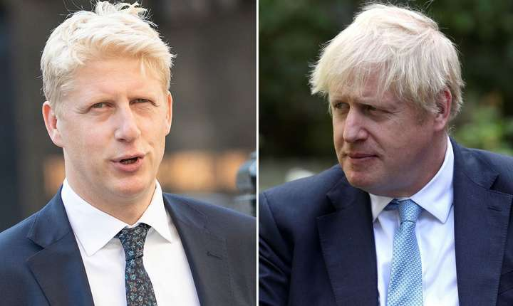 Jo Johnson și Boris Johnson