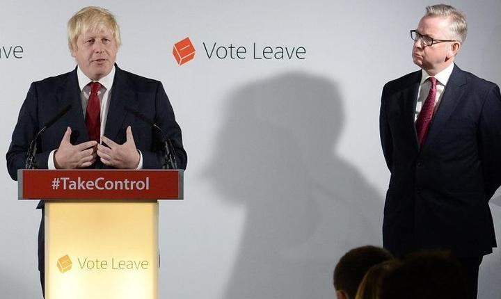 Boris Johnson și Michael Gove