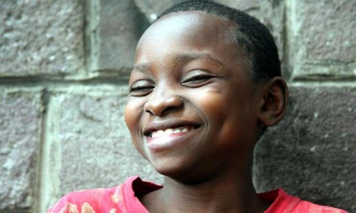 Optimism pe faţa unui copil…