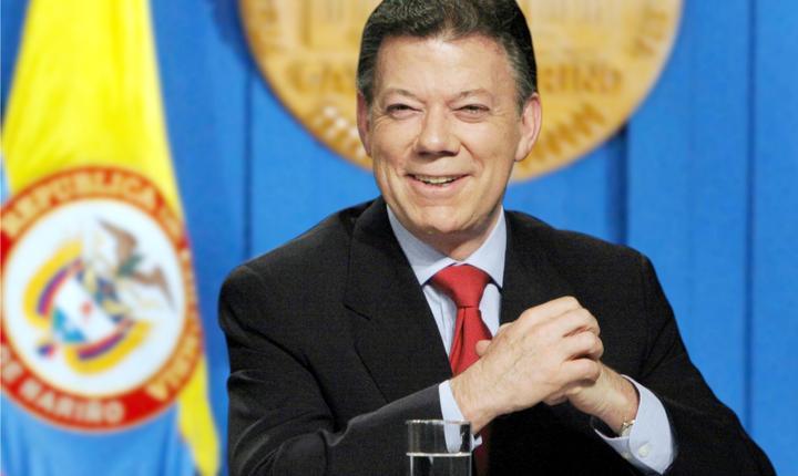 Presedintele Columbiei, Juan Manuel Santos, primeste premiul Nobel pentru Pace in 2016