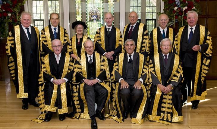 Judecătorii Curții Supreme a Regatului Unit