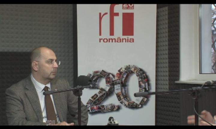 Kelemen Hunor, în studioul RFI (arhivă)