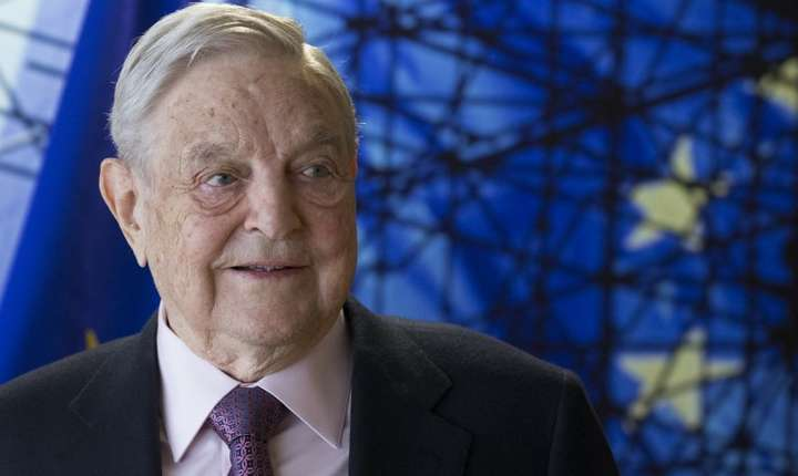 Miliardarul George Soros, criticat de liderul PSD, Liviu Dragnea (Foto: AFP/Olivier Hoslet)