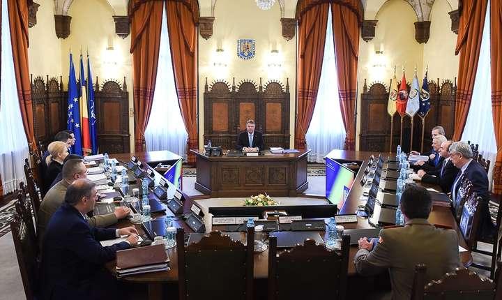Şedinţă CSAT, marţi, 21 martie 2017, la Palatul Cotroceni (Sursa foto: www.presidency.ro)