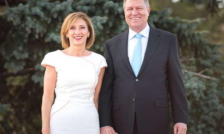 Președintele Klaus Iohannis și soția sa, Carmen Iohannis
