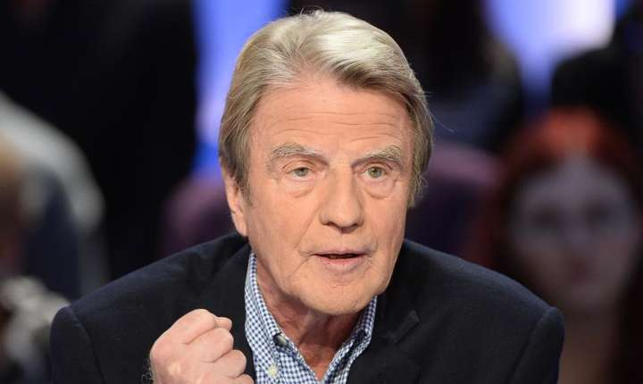 Bernard Kouchner în 2014 în cursul unui interviu televiza