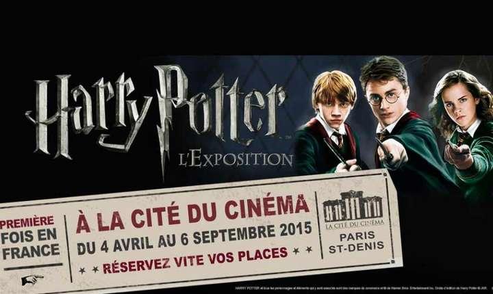 Expozitie Harry Potter la Cetatea Cinematografiei din Franta