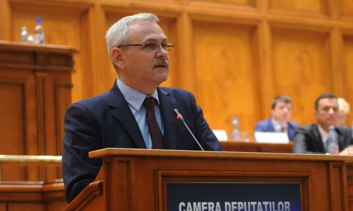 Liviu Dragnea, președinte PSD și al Camerei Deputaților