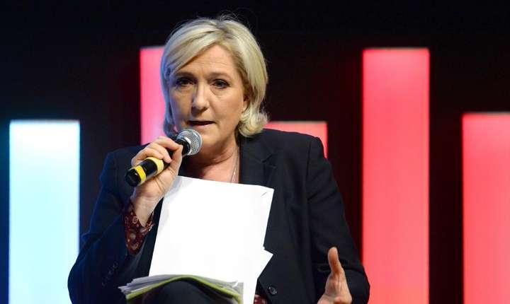 Marine Le Pen, lidera extremei drepte franceze, finalistà a prezidentialelor din 7 mai