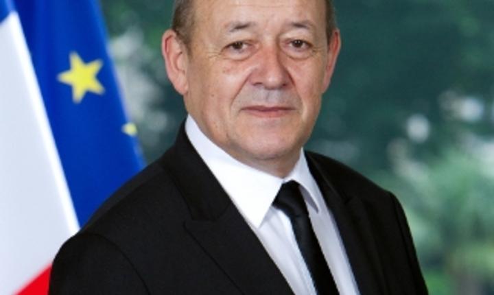 Ministrul Apărării din Franța, Jean-Yves Le Drian