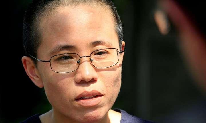 Liu Xia, vaduva disidentului chinez Liu Xiaobo (iunie 2009)