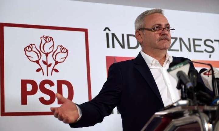 Liviu Dragnea, sancţiuni pentru senatorul Şerban Nicolae (Foto: AFP/Daniel Mihăilescu/arhivă)