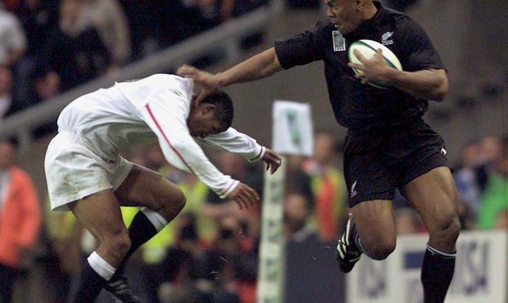 Jonah Lomu este considerat unul dintre cele mai mari talente din istoria rugby-ului