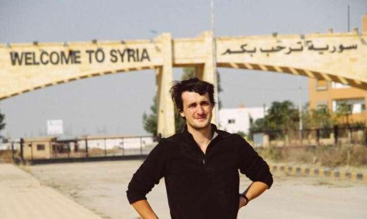 Loup Bureau la frontiera cu Siria