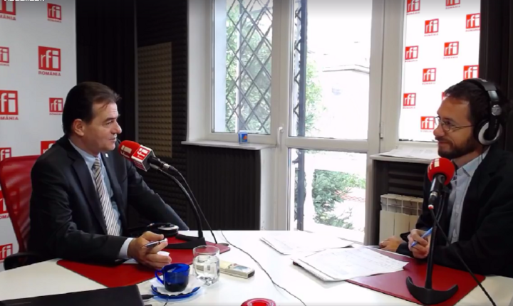 Ludovic Orban, în studioul RFI, marţi, 19 septembrie 2017