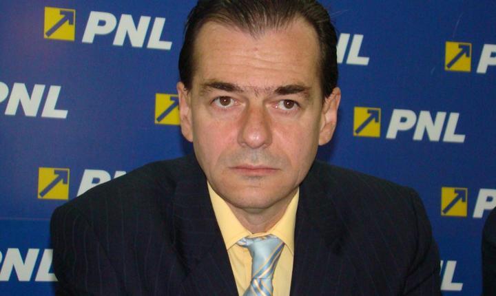Prim-vicepreşedintele PNL, Ludovic Orban