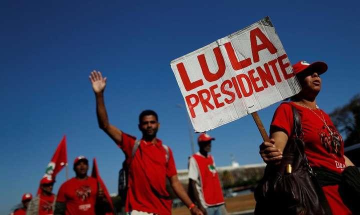 Marsul partizanilor lui Lula, 14 august 2018