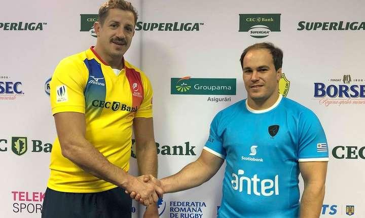 Mihai Macovei și Juan Manuel Gaminara