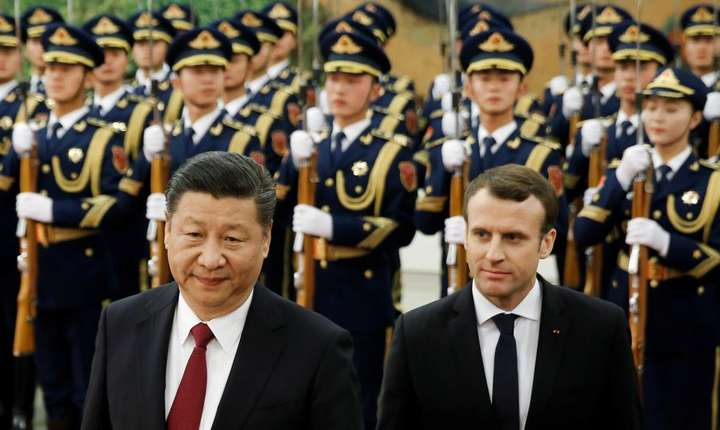 Emmanuel Macron a revenit în China un an si jumàtate dupà prima sa vizità la Xi Jinping