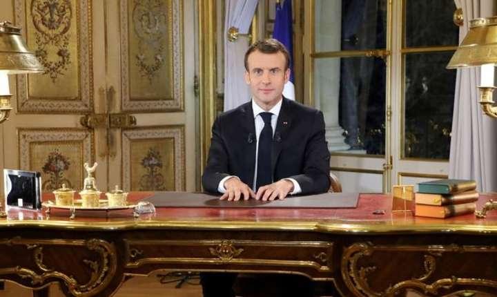 Emmanuel Macron va lansa un apel la calm cu ocazia traditionalului mesaj de An Nou