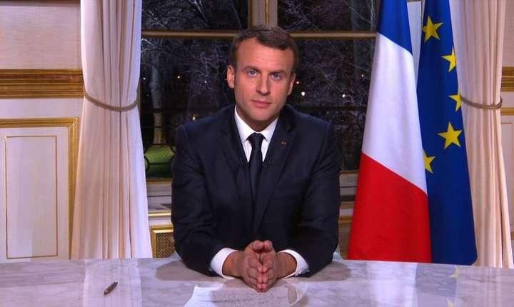 Emmanuel Macron, alocuţiune de Anul Nou