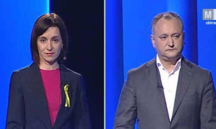 Maia Sandu și Igor Dodon