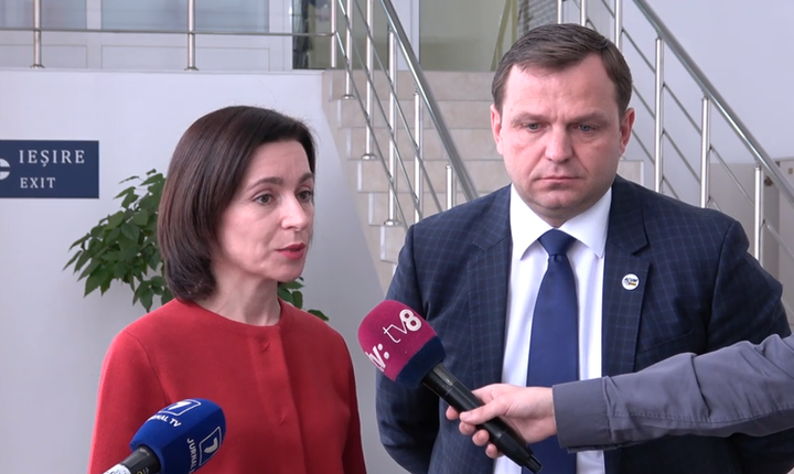 Cabinetul condus de Maia Sandu, format în urma unui unui acord între socialiști și proeuropeni și recunoscut de Uniunea Europeană