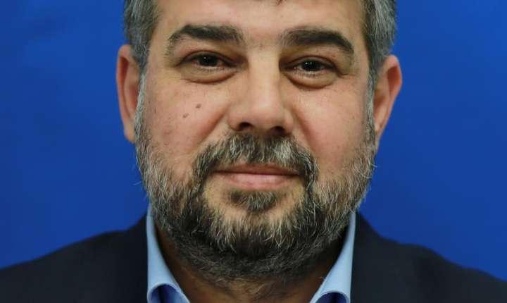 Social-democratul Marcel Ciolacu se instalează la șefia Camerei Deputaților (Sursa foto: cdep.ro)