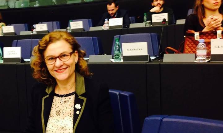 Maria Grapini, noi critici la adresa Bruxelles-ului (Foto: Facebook/Maria Grapini)
