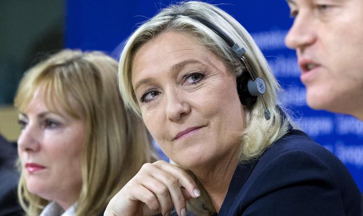 Marine Le Pen, unul din liderii noului grup din PE
