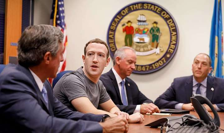 Patronul Facebook, Mark Zuckerberg
