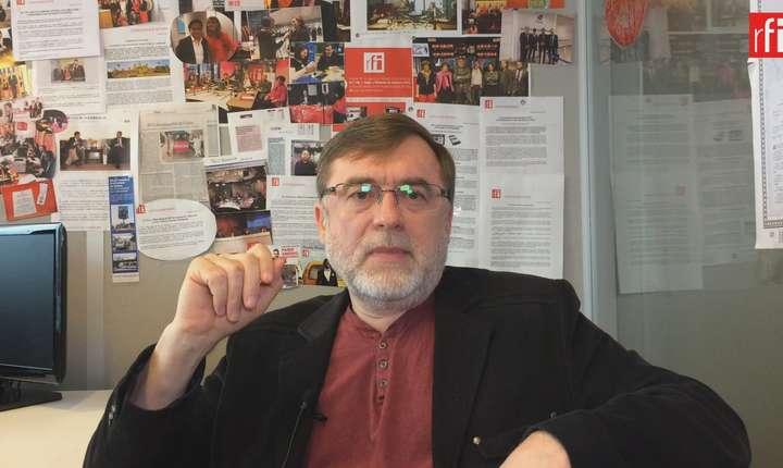 Dialog cu Matei Vișniec in redactia RFI de la Paris