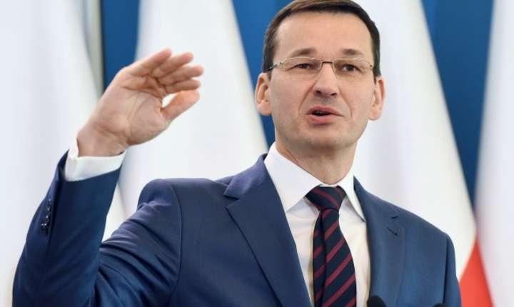 Viorica Dancila a fost primita la Varsovia de premierul polonez Mateusz Morawiecki