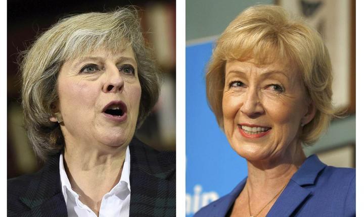 Theresa May și Andrea Leadsom