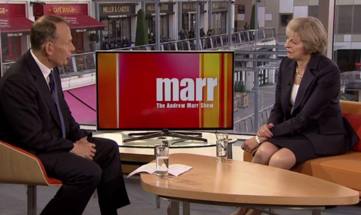 Andrew Marr și Theresa May
