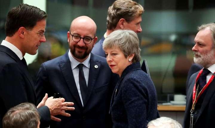Theresa May la summitul UE