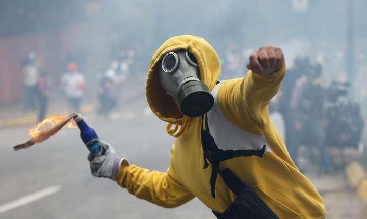 Protestatar din Venezuela