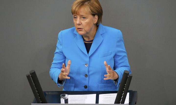 Angela Merkel. FOTO: REUTERS/Fabrizio Bensch