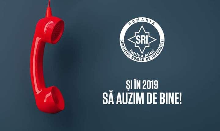 Mesaj inedit al SRI, de Anul Nou (Sursa foto: Facebook/SRI)